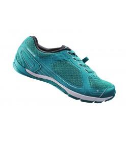 Zapatillas Shimano Mujer CW41 Click'r Verde