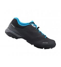 Zapatillas mtb Shimano MT3 negras-azules SPD