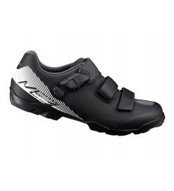 Zapatillas Shimano ME3 Negro/Blanco SPD