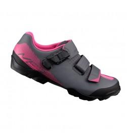 Zapatillas Shimano ME3 Negro/Magenta SPD Mujer