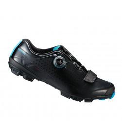 Zapatillas Shimano SH-XC7 Negro/Azul Boa