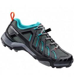 Zapatillas Shimano Montaña Mujer SH-WM34 Negro/Verde