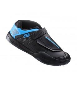 Zapatillas Shimano AM9 Negro/Azul SPD