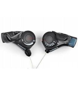 Mandos Shimano TX30 3x7velocidades