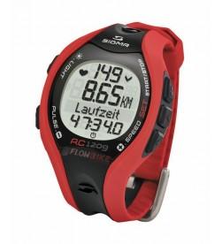 Reloj Running Ordenador Sigma RC 1209 Rojo Negro