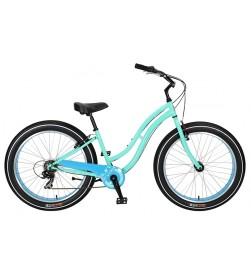 Bicicleta Sun Bicycles Baja Cruz 7v Mint Pearl