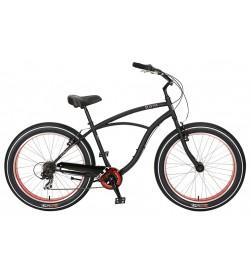 Bicicleta Sun Bicycles Baja Cruz 7v Negro Mate
