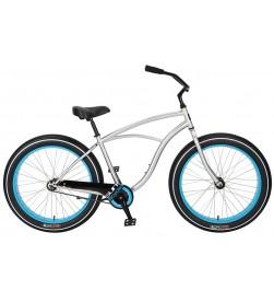 Bicicleta Sun Bicycles Baja Cruz CB Plata (Contrapedal)