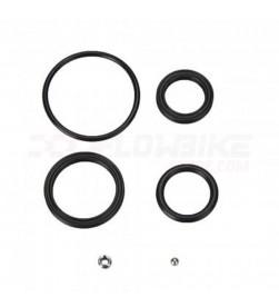 Kit juntas/retenes sistema hidraulico amortiguador Suntour RS16-17 Unair / RS15 Epixon LO-R