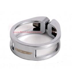 Cierre tija sillín tornillo MSC aluminio Plateada 34.9mm