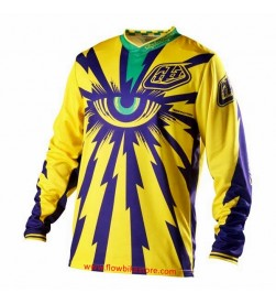 Camiseta DH Troy Lee Designs Cyclops Amarillo