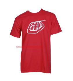 Camiseta Logo Troy Lee Designs Rojo