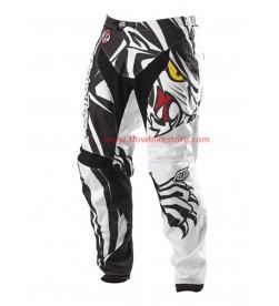 Pantalon Largo DH Troy Lee Designs GP Predator Negro Blanco