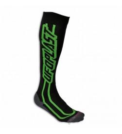 Calcetines Ufo Largos Negro Verde