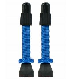 Valvulas tubeless VAR Presta Azul (2unidades)