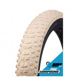 Cubierta Fat Vee Tire Bulldozer 26x4.70 beige plegable tubeless ready