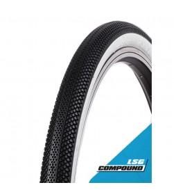Cubierta Vee Tire Speedster 20x2.25 negra/banda blanca plegable