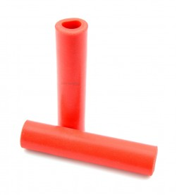 Puños Velo 100% Silicona Rojo