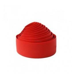 Cinta manillar Velo Wrap Corcho Rojo