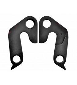 Patilla cambio Aluminio Negro - Cannondale 14383 / KF051
