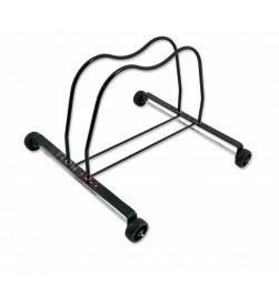 Soporte Expositor Bicicleta Ajustable y desmontable con ruedas