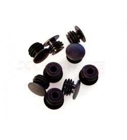 Tapones de manillar de plastico 22.2mm