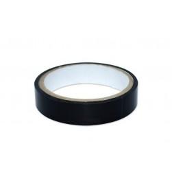 Cinta negra adhesiva para tubelizar fina X-Sauce 30mm (9 metros)