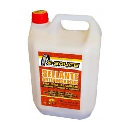 Liquido Sellante Antipinchazos X-Sauce 5 Litros para camaras y tubulares