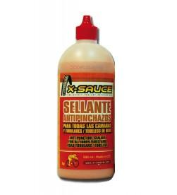 Liquido Sellante Antipinchazos para Cámaras y Tubulares 500ml X-Sauce