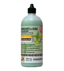 Lubricante de cera seca Dry Wax c/teflon X-Sauce 500ml