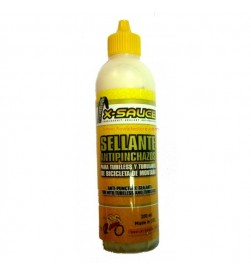 Liquido Sellante Antipinchazos para Tubeless y Tubulares 200ml X-Sauce