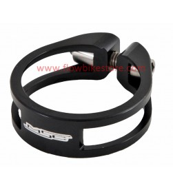 Cierre tija sillín MSC Ultralight Aluminio Negro 31.8mm / 34.9mm (Tornillo Titanio)