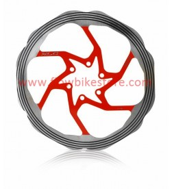 Disco XLC BR-X58 Refrigerados 180mm Rojo CNC