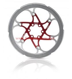 Disco XLC Flotante Refrigerados 180mm Rojo CNC