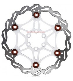 Disco XLC BR-X50 Blanco/Rojo 180mm