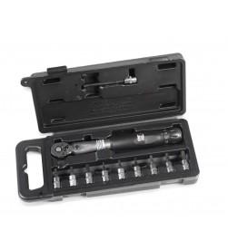 """Llave dinamometrica 1/4"""" XLC TO-S87 4-24 Nm con puntas"""