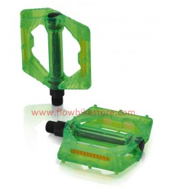 Pedales XLC PD-M16 Translucido Verde