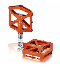 Pedales Plataforma Ancha XLC PD-M12 Naranja