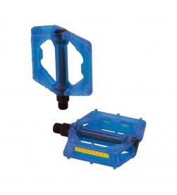 Pedales XLC PD-M16 Translucido Azul