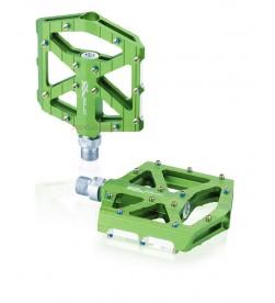 Pedales Plataforma Ancha XLC PD-M12 Verde