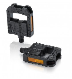 Pedales plegables XLC PD-F01 con reflectantes