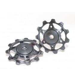 Rulinas XLC PU-A02 Aluminio Colores Rodamiento Sellado 11 Dientes Color Titanio