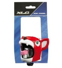 Timbre Animado Aluminio Silicona XLC Crazy-stuff Gato Rojo
