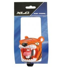 Timbre Animado Aluminio Silicona XLC Crazy-stuff Tigre