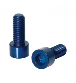 Kit 2 Tornillos XLC BC-X02 Para  Portabidón M5x17 Azul
