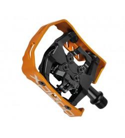 Pedales Automáticos Xpedo Milo Negro - Naranja XCF13AC