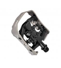 Pedales Automáticos Xpedo Milo Negro - plata XCF13AC