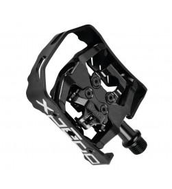 Pedales Automáticos Xpedo Milo Negro XCF13AC