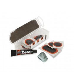 Kit parches Zefal (Parches+Vulcanizante+Lija) para camara y tubeless