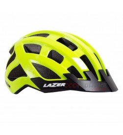 CASCO LAZER COMPACT AMARILLO FLASH (54-61cm)
